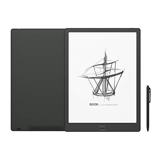 BOOX Max3 13.3 Zoll E-Ink Tablet Schwarz, Android9.0 64GB Fingerabdruckscanner Eingabestift, OTG WLAN BT