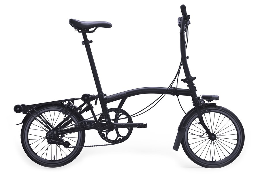 Brompton H6RD Limited Edition Schwarz Modell 2020