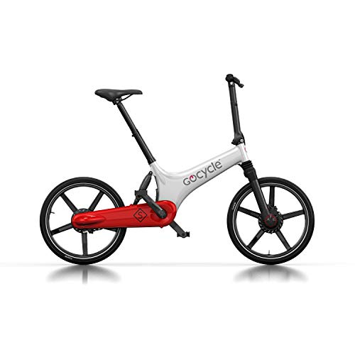 Gocycle GS Faltrad, Weiß/Rot, White/Red