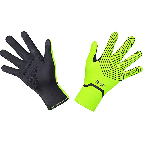 GORE WEAR C3 Stretch Handschuhe GORE-TEX INFINIUM, 7, Neon-Gelb/Schwarz