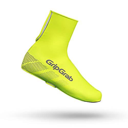 GripGrab Ride wasserdichte Winddichte Fahrrad Überschuhe | Unisex Radsport Überzieher/Gamaschen für Regen Wetter, Gelb Hi-Vis, XL (44-45)