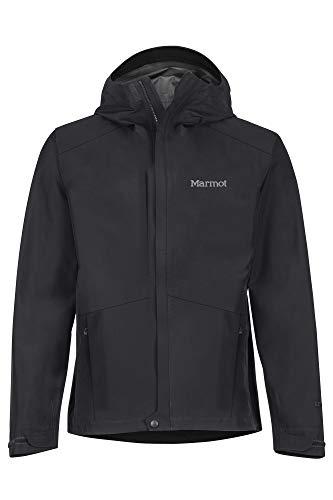 Marmot Herren Minimalist Jacket Hardshell Regenjacke, Wasserdicht, Winddicht & Atmungsaktiv, Black (2020), XL